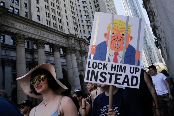Manifestaciones en todo EE.UU. ante política de inmigrantes de Trump