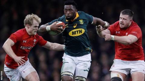 Sudáfrica v Inglaterra Siya Kolisi- El capitán de los Springboks que une un país.