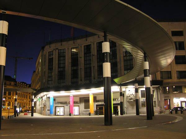 estación de tren en Bruselas